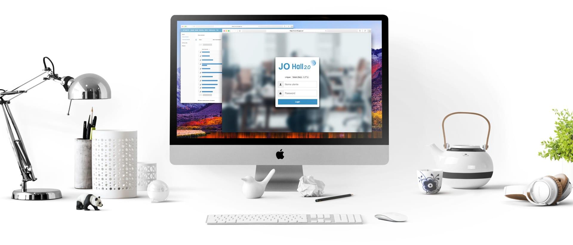 JO Hall Gestionale Software